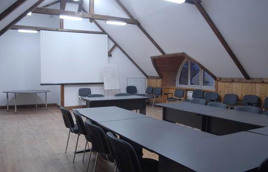 Малый конференц-зал (70 м.кв., до 30 человек)