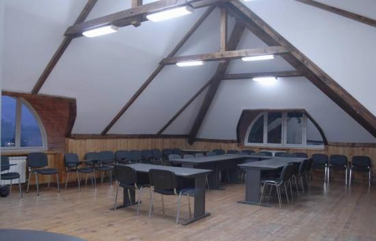 Малий конференц-зал (70 м.кв., до 30 осіб)