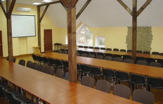Великий конференц-зал (110 м.кв., до 110 осіб)