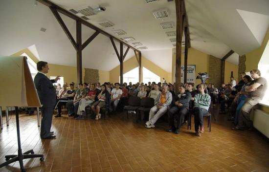 Большой конференц-зал (110 м.кв., до 110 человек)