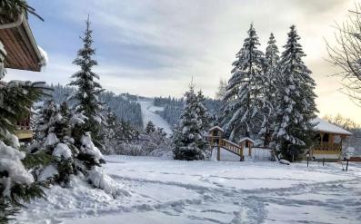 """Зима в """"Перлині Карпат"""""""